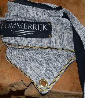 sjaal met logo Lommerrijk