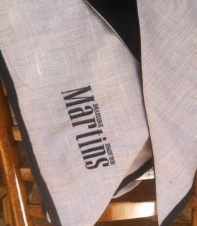 sjaal met logo Martins