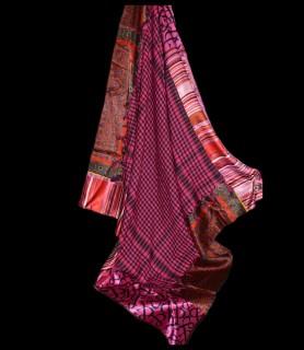 Lolah sjaal Hot Pink
