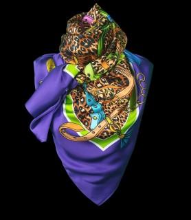 Purple loves Leopard